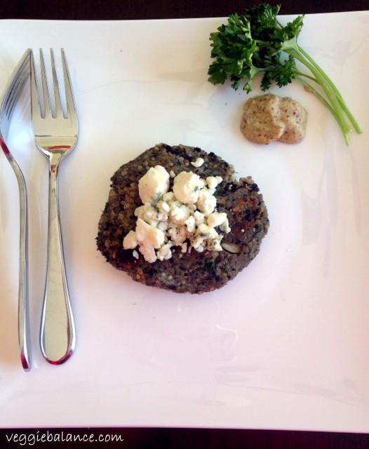 Best Black Bean Burger Ever!- Veggiebalance.com