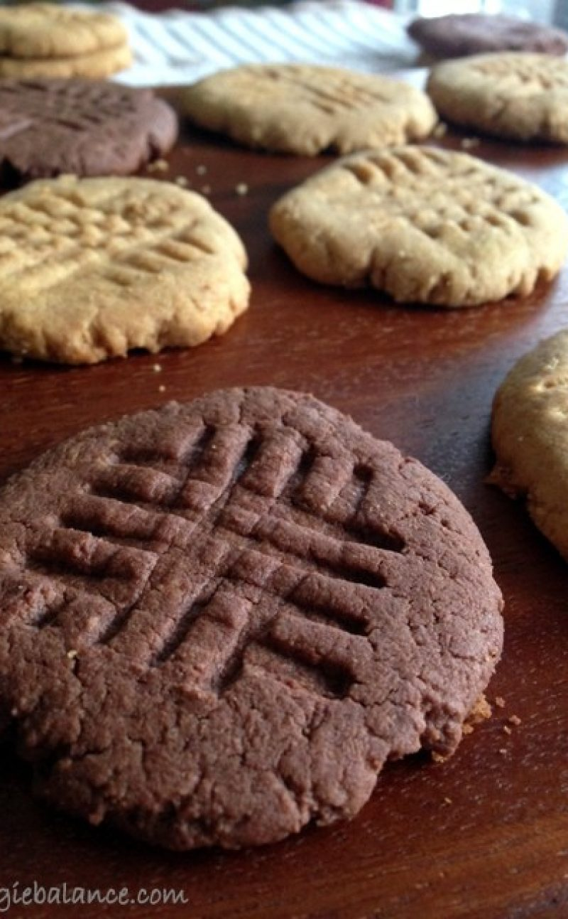 Skinny Peanut Butter Cookies Recipe