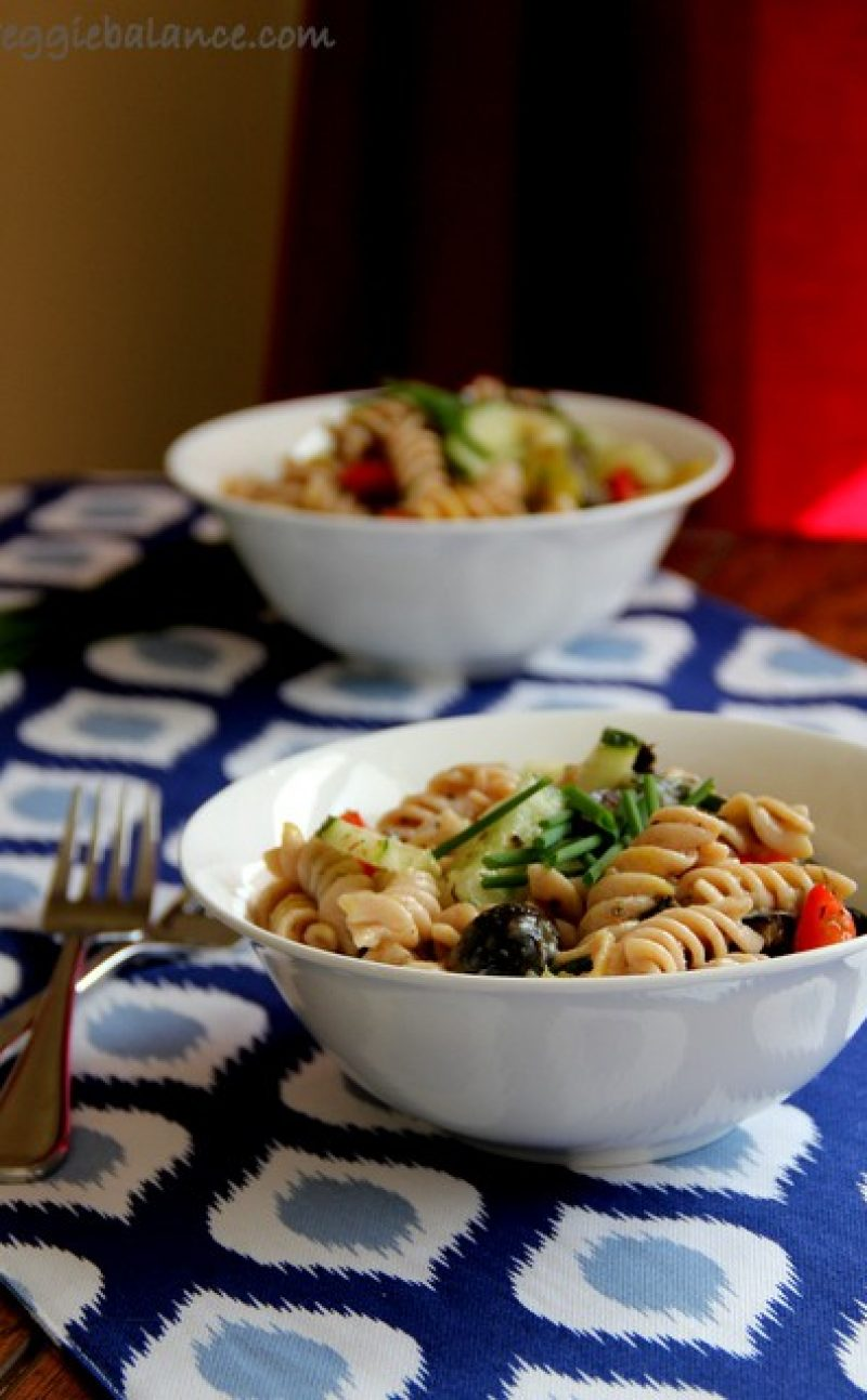 All-Natural Greek Pasta Salad