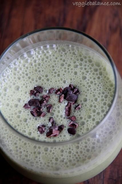Spinach Banana Smoothie - Veggiebalance.com