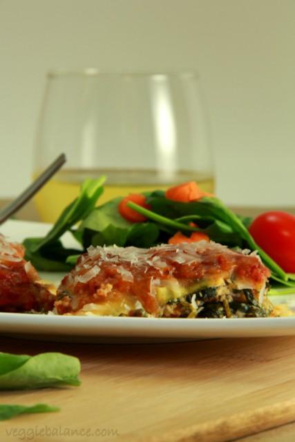 Zucchini Lasagna - Veggiebalance.com
