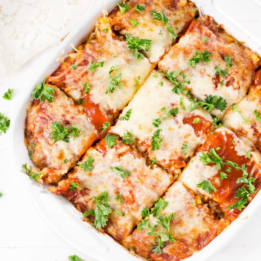 Enchilada Rice Casserole