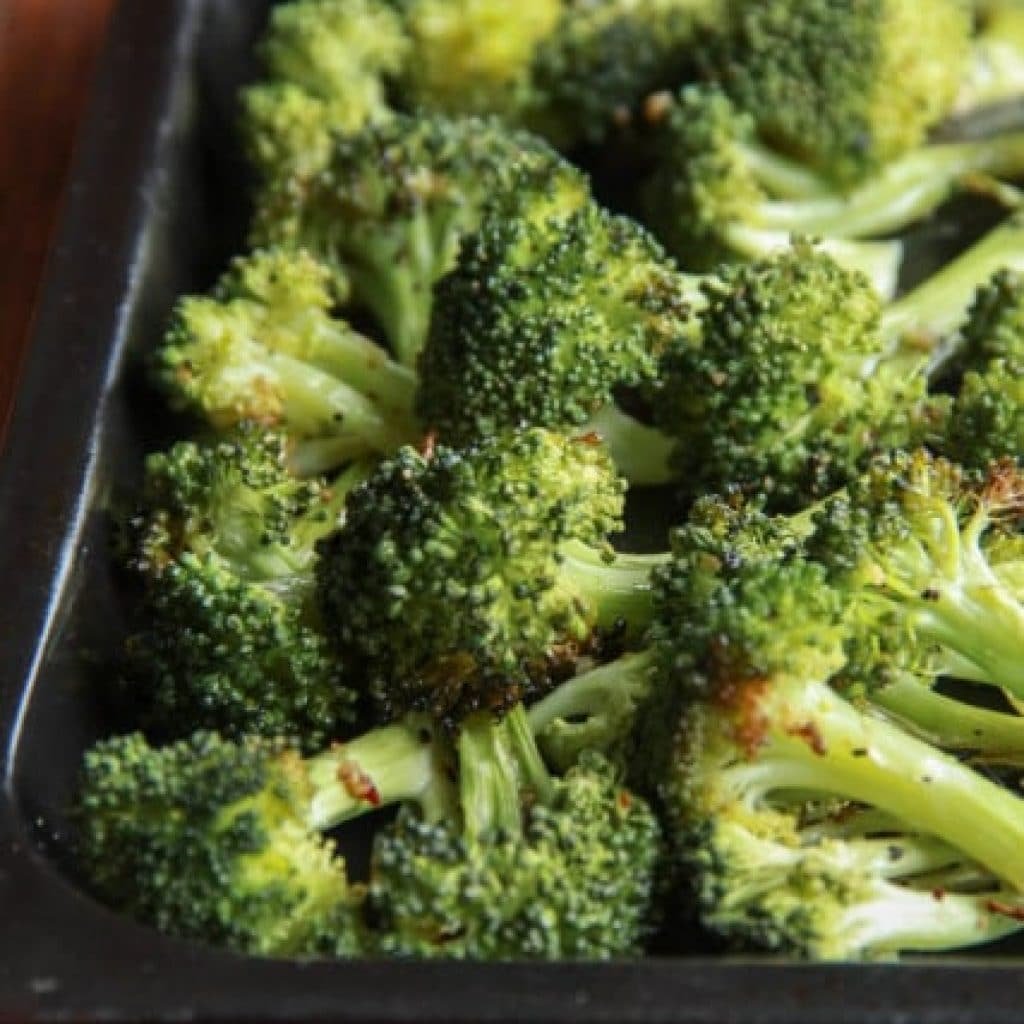 Best Baked Broccoli Recipe Ever (Gluten Free)