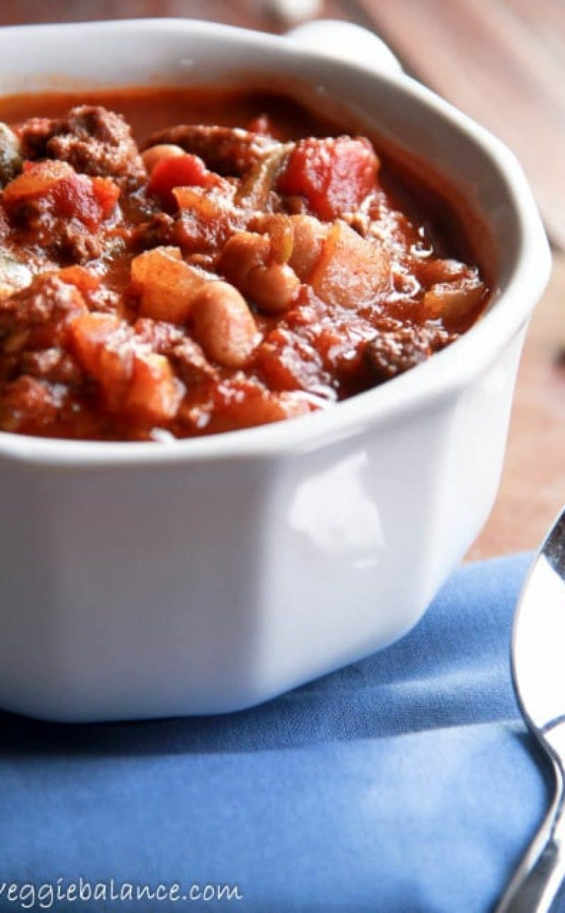 Beef Crockpot Chili