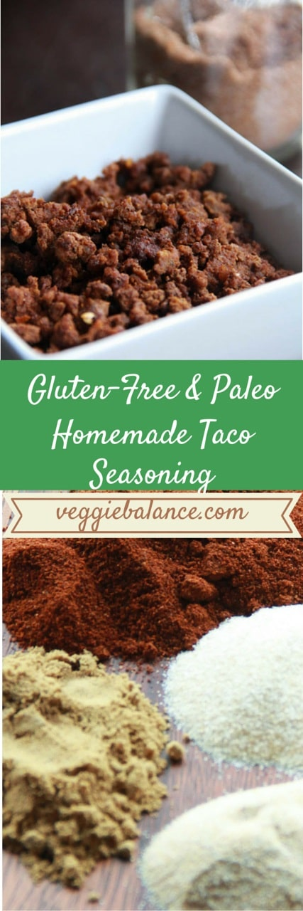 Homemade Taco Seasoning - Veggiebalance.com