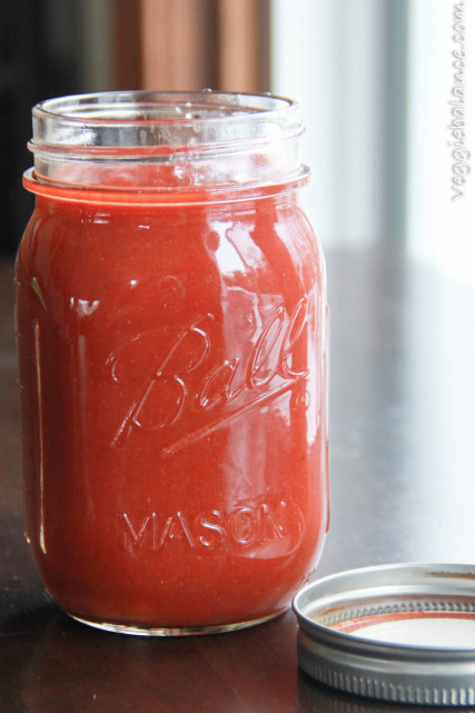Make your own taco sauce at home with this easy homemade taco sauce recipe.