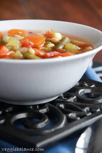 Fresh Vegetable Soup - Veggiebalance.com