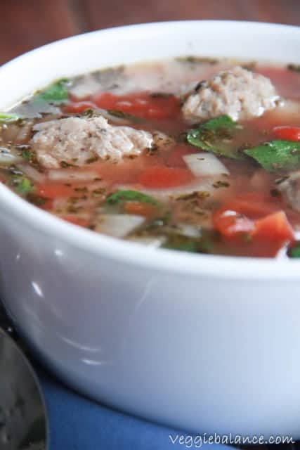 Italian Winter Soup - Veggiebalance.com