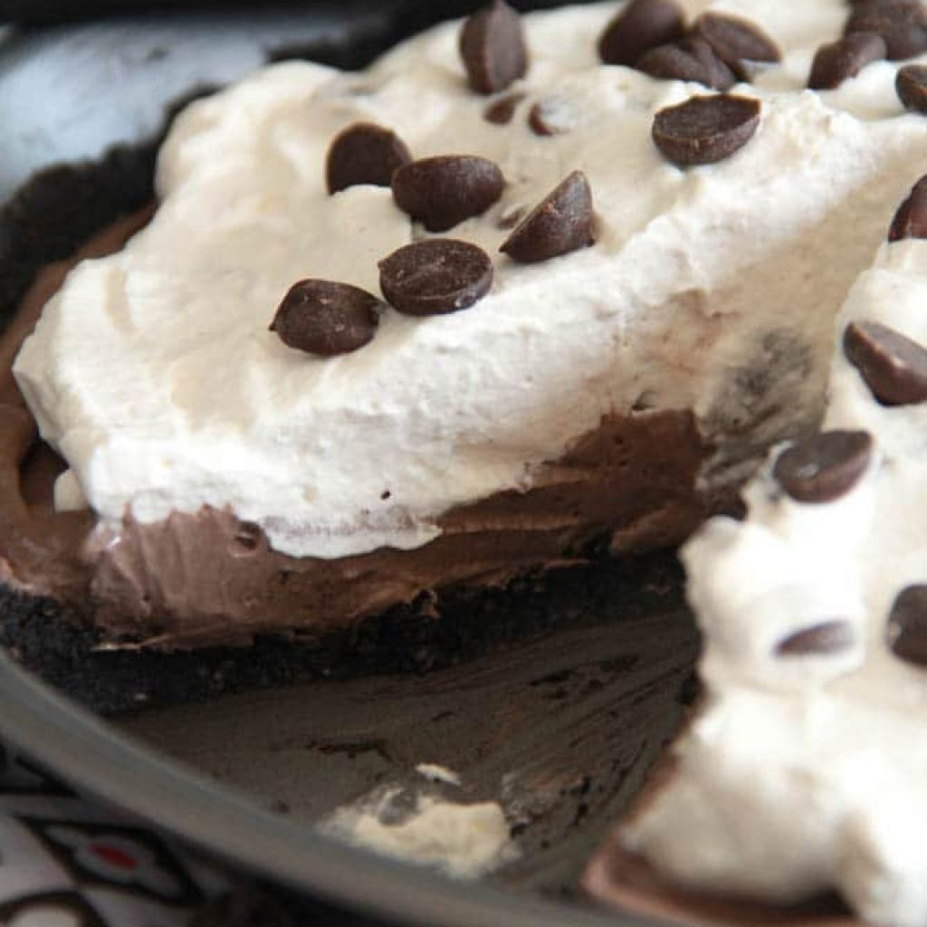Gluten Free Chocolate Pudding Pie