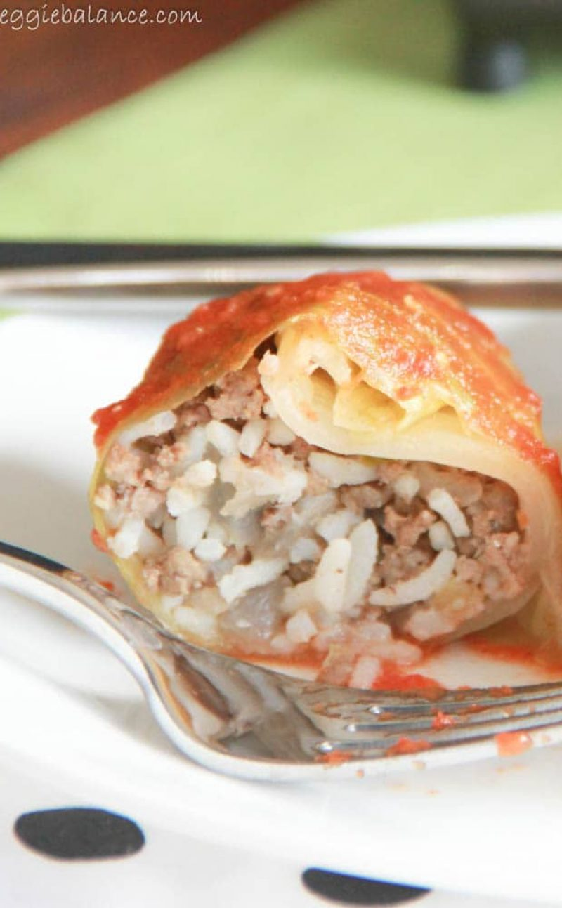Cabbage Rolls in Tomato Sauce Recipe