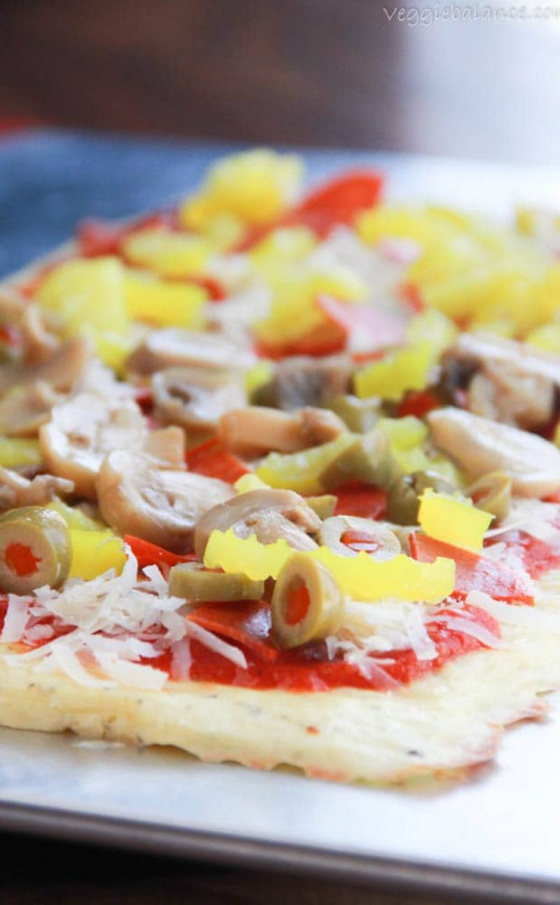 Low Carb Pizza Crust {Gluten Free}