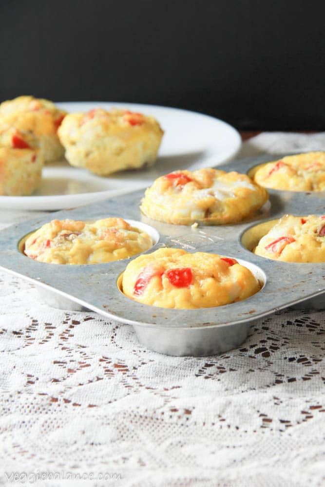 Crustless Vegetarian Quiche (Gluten-Free Quiche)