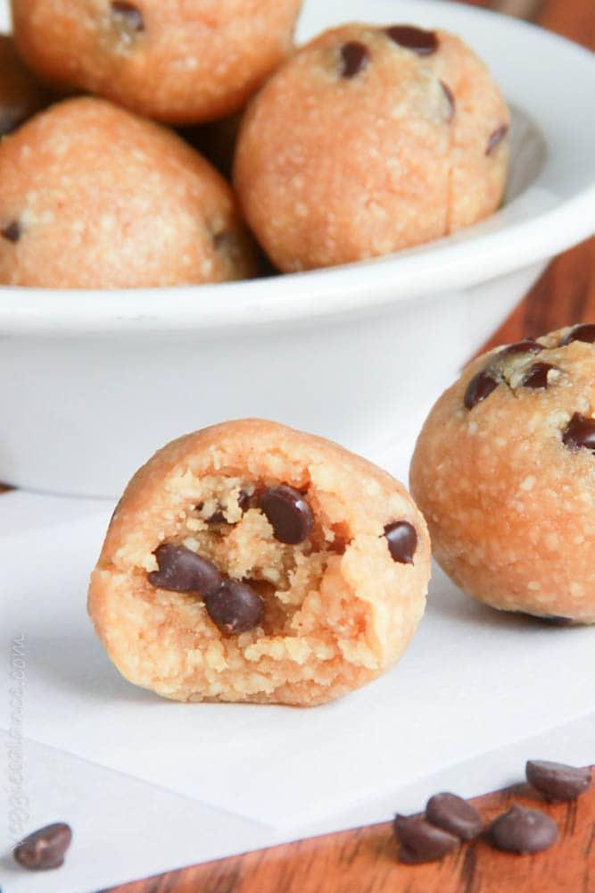 Mint Chocolate Chip Truffles - Gluten Free Recipes | Easy ...