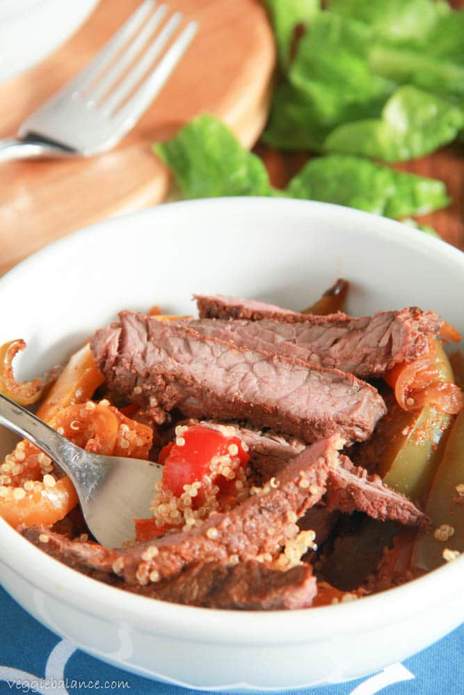 Gluten Free Steak Fajitas