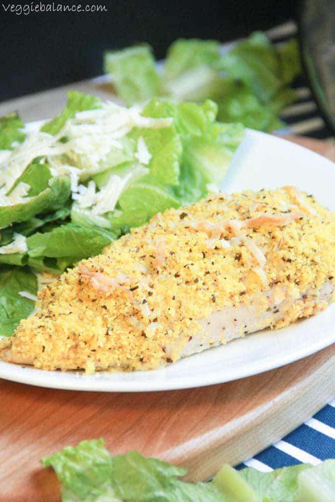 Gluten Free Chicken Parmesan - Veggiebalance.com