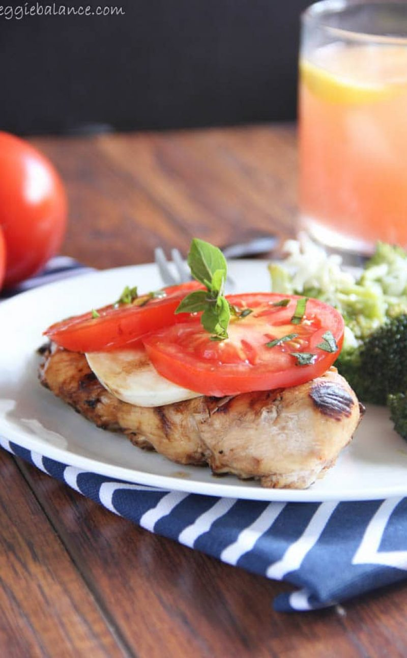 Tomato Mozzarella Chicken