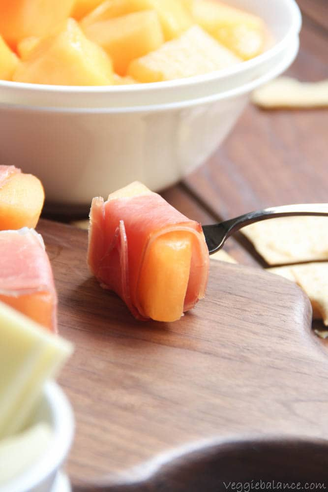 Prosciutto wrapped melon recipe