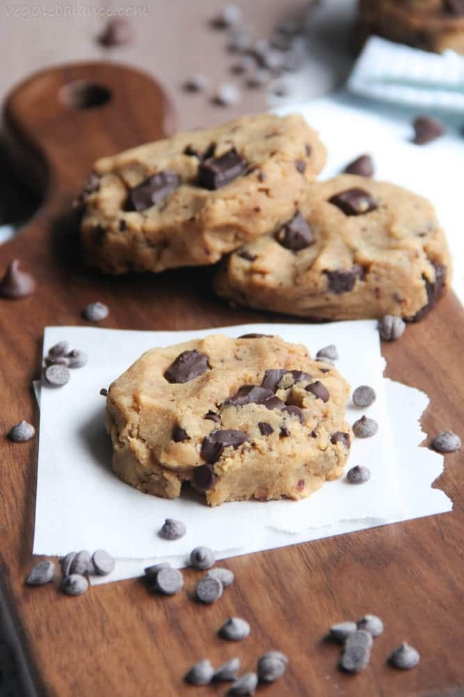 Healthy Chocolate Chip Cookies recipe - Veggiebalance.com