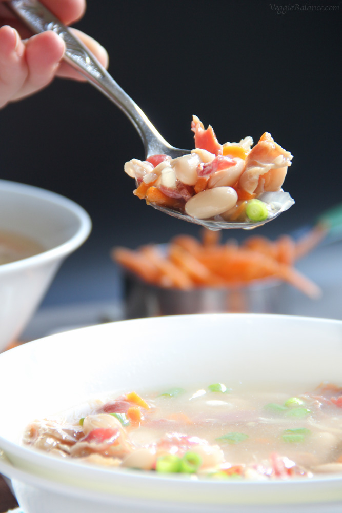 Campbells Bean and Bacon Soup Copycat
