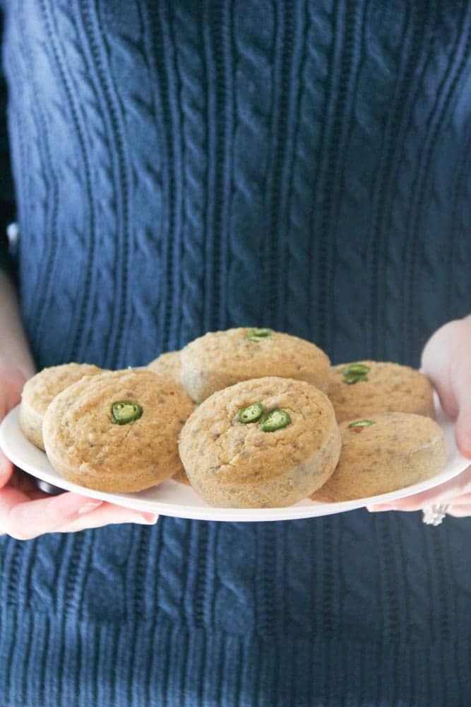 Gluten-Free Cornbread Muffins