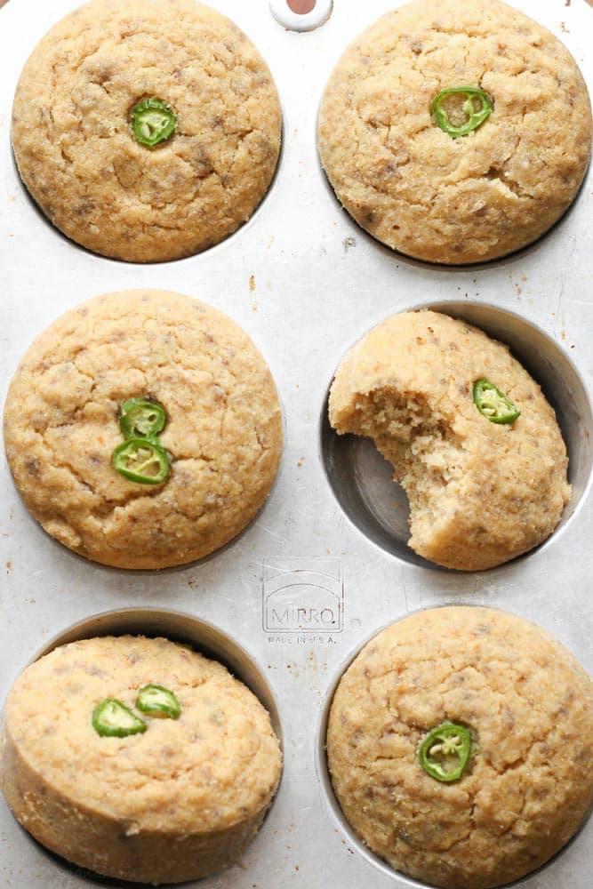 Gluten Free Cornbread Muffins - Veggiebalance.com