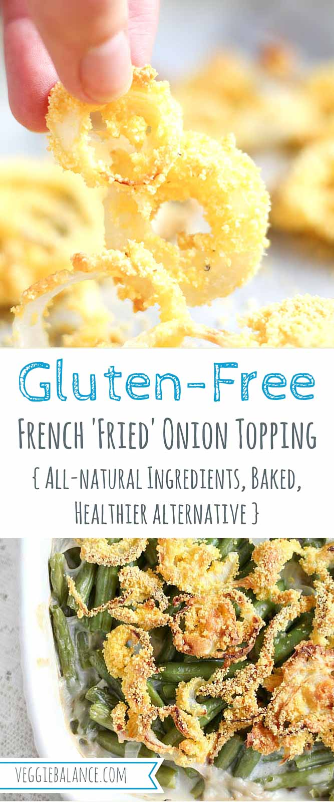 Gluten-Free French Fried Onion Toppings