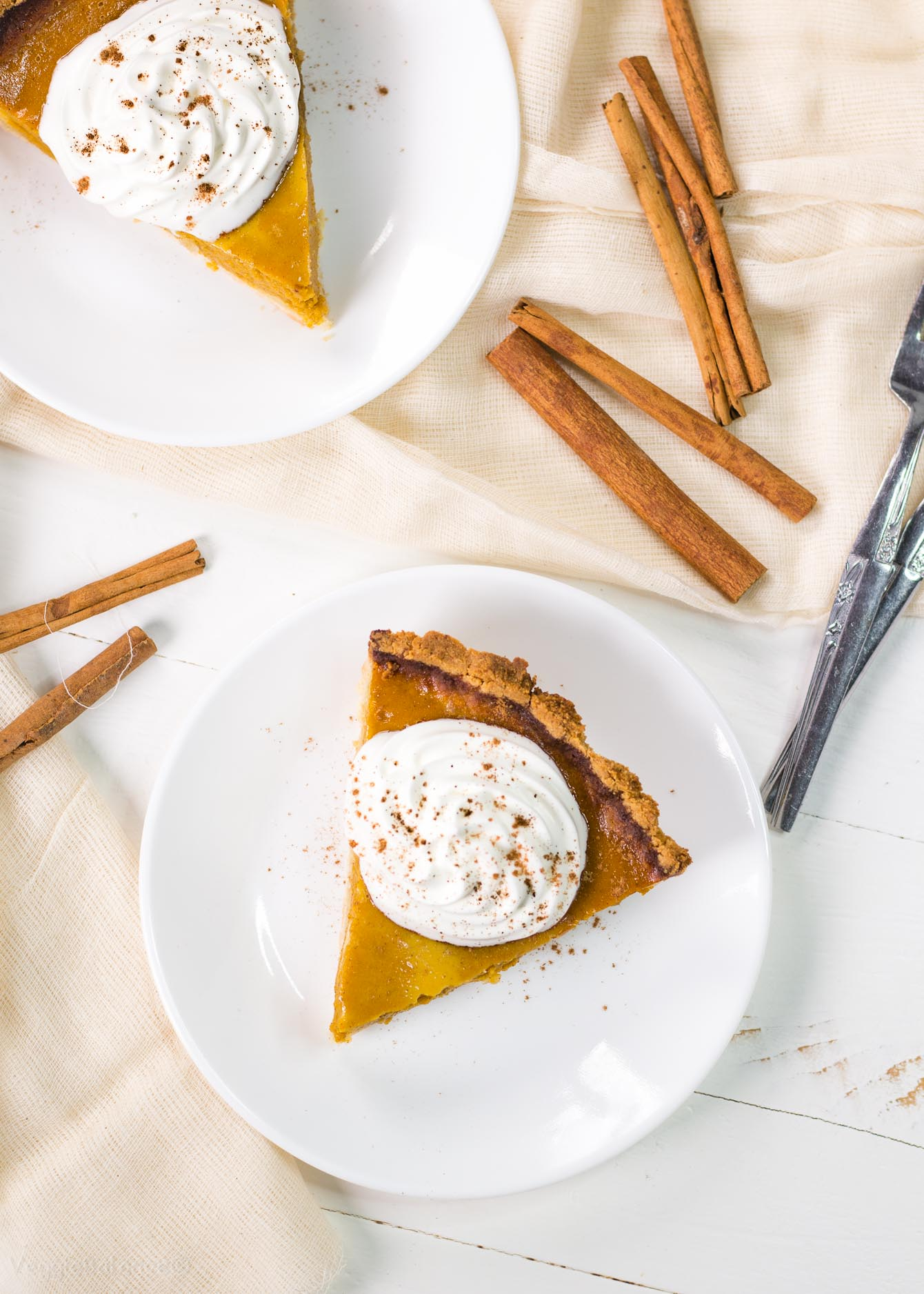 Healthy Gluten-Free Pumpkin Pie recipe