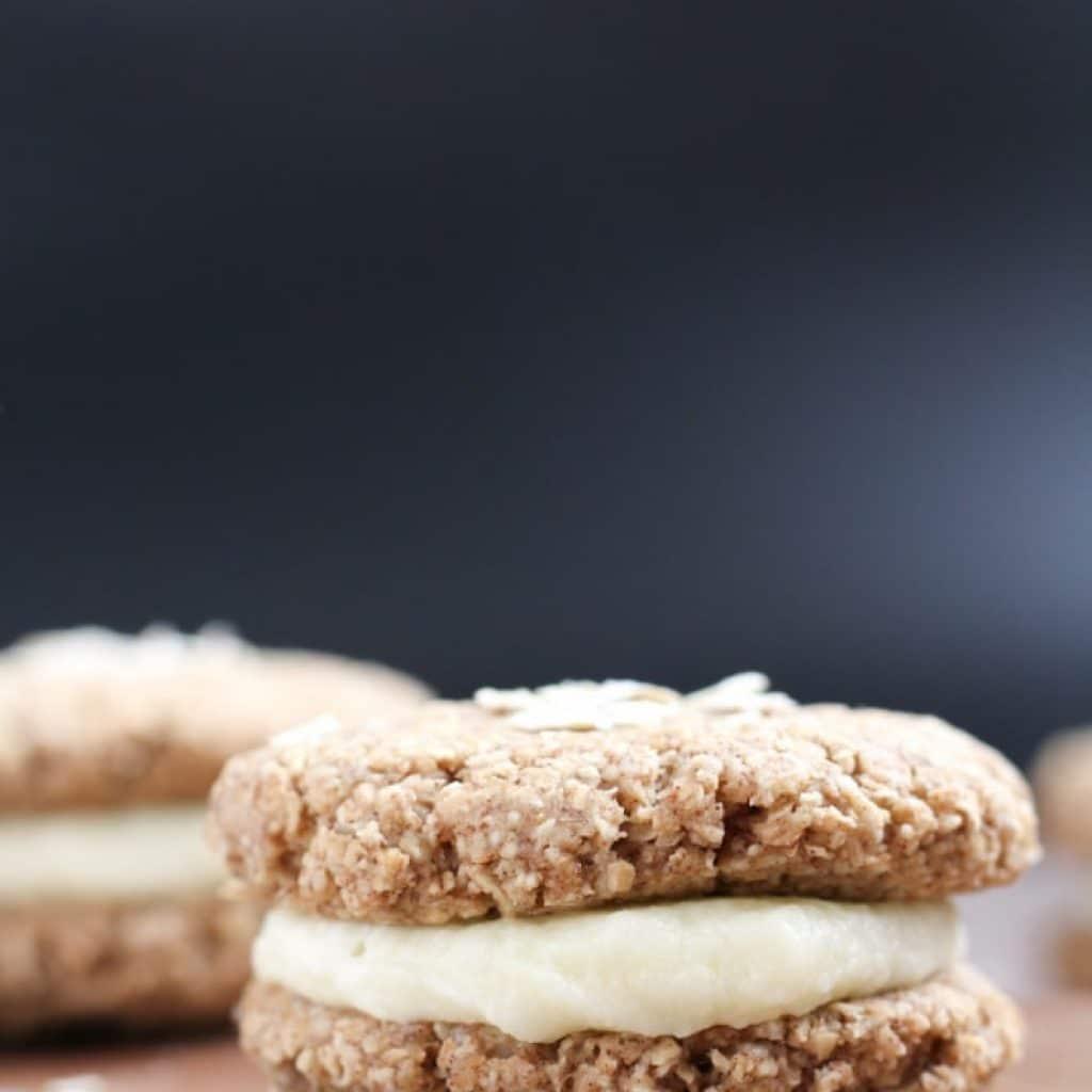 Gluten-Free Little Debbie Oatmeal Creme Pies {Copycat Recipe}