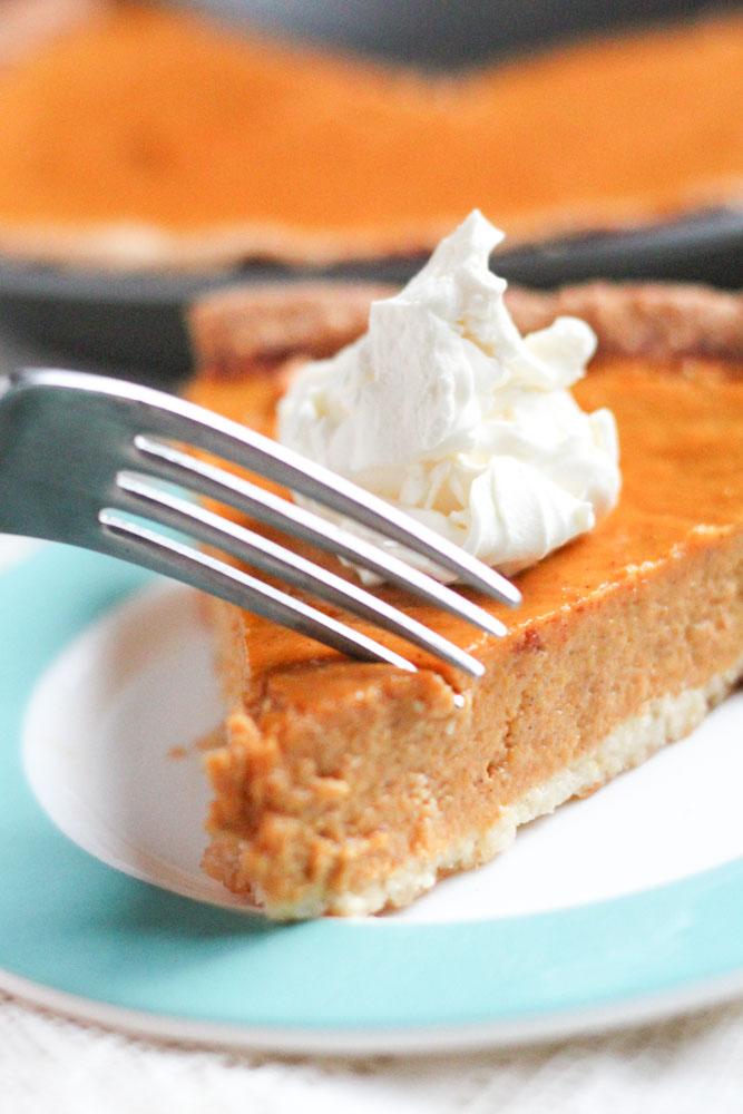 Healthy Gluten-Free Pumpkin Pie Recipe Low-Sugar Low-Carb