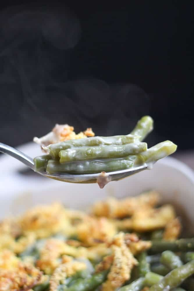 Gluten Free Green Bean Casserole Recipe