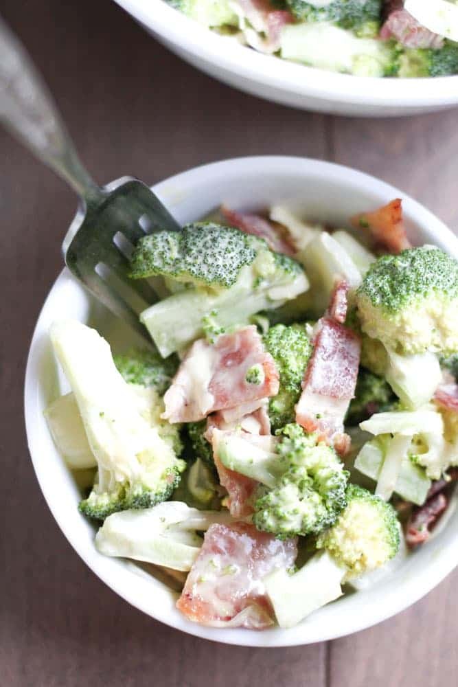 Healthy Broccoli Salad - Veggiebalance.com