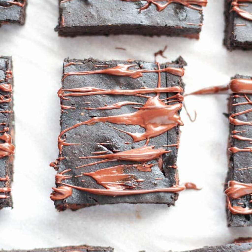 Healthy Brownies with Pumpkin