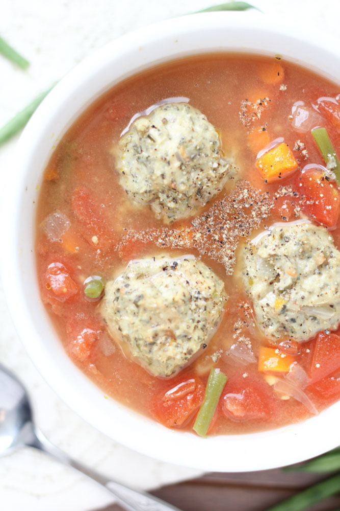 Chicken Meatball Soup Gluten Free