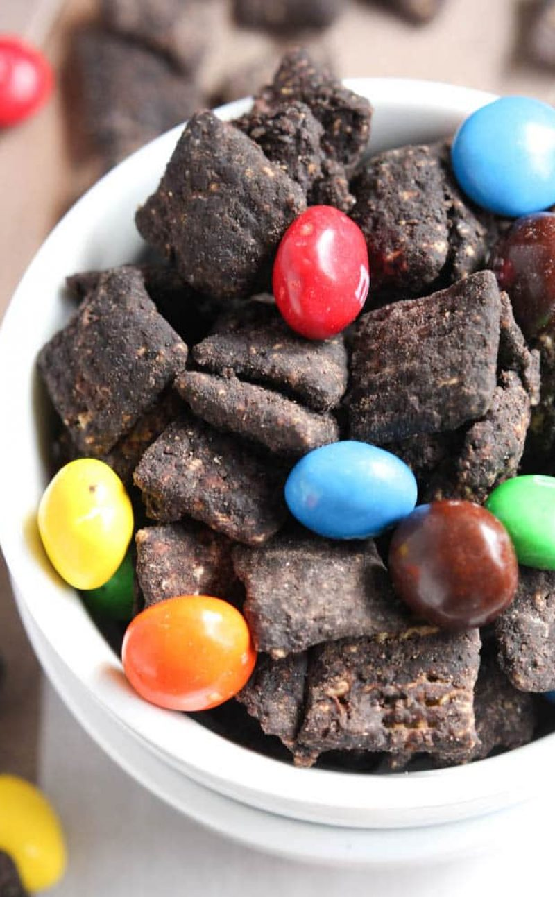 Dark Chocolate Puppy Chow Recipe