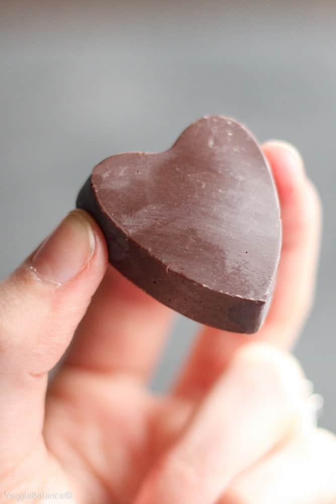 Allergy Friendly Chocolate Hearts - Veggiebalance.com