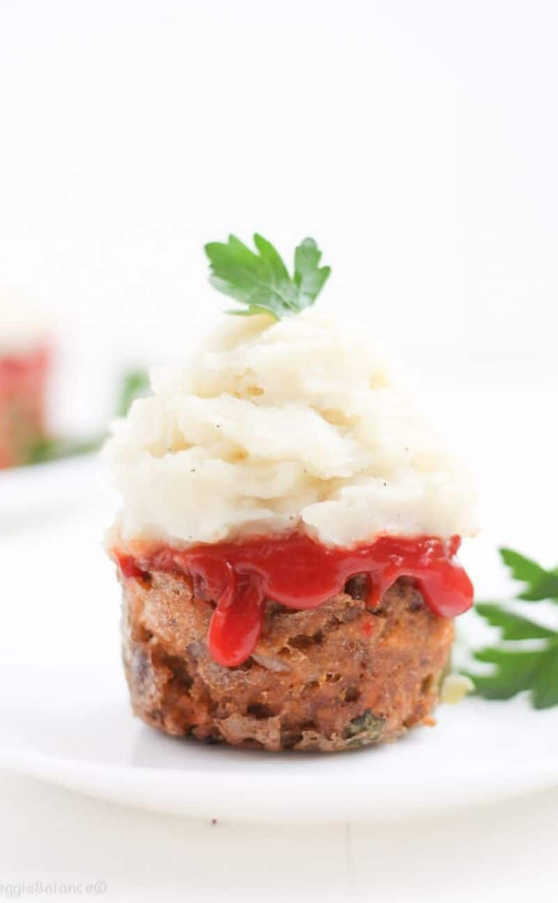 Gluten-Free Meatloaf Muffins made Healthy