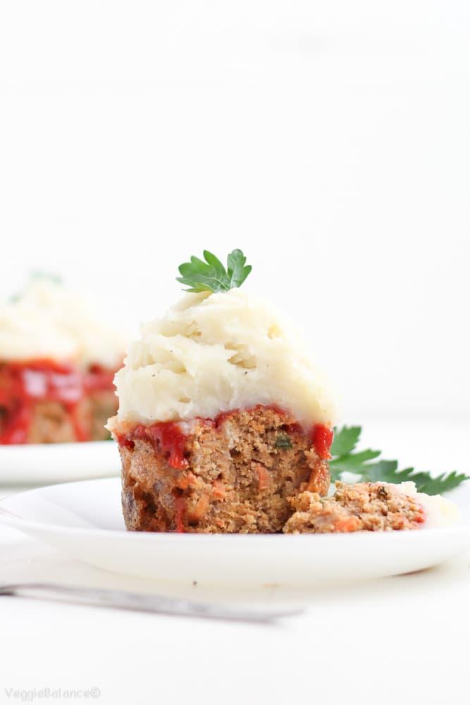 Gluten-Free Meatloaf Recipe Muffins Meatloaves Twist Dairy-Free Meatloaf (Healthy, Dairy-Free) - Veggiebalance.com