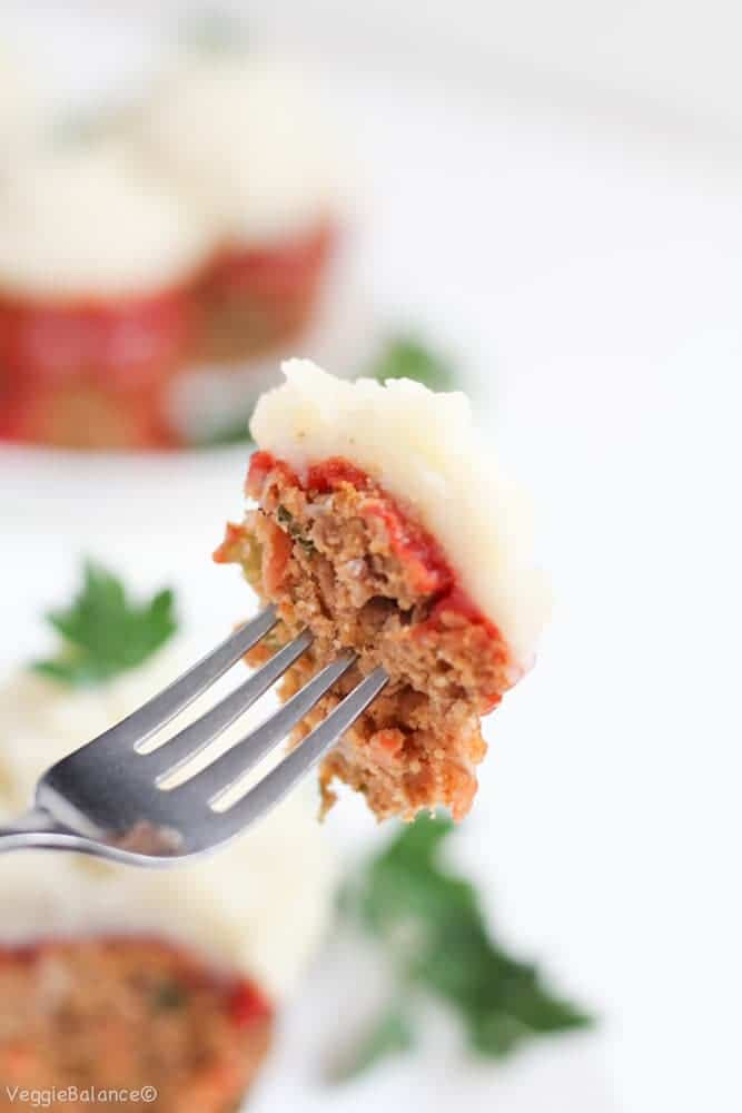 Gluten-Free Meatloaf Recipe Muffins Meatloaves Twist Dairy-Free Meatloaf (Healthy, Dairy-Free) - Veggiebalance.com