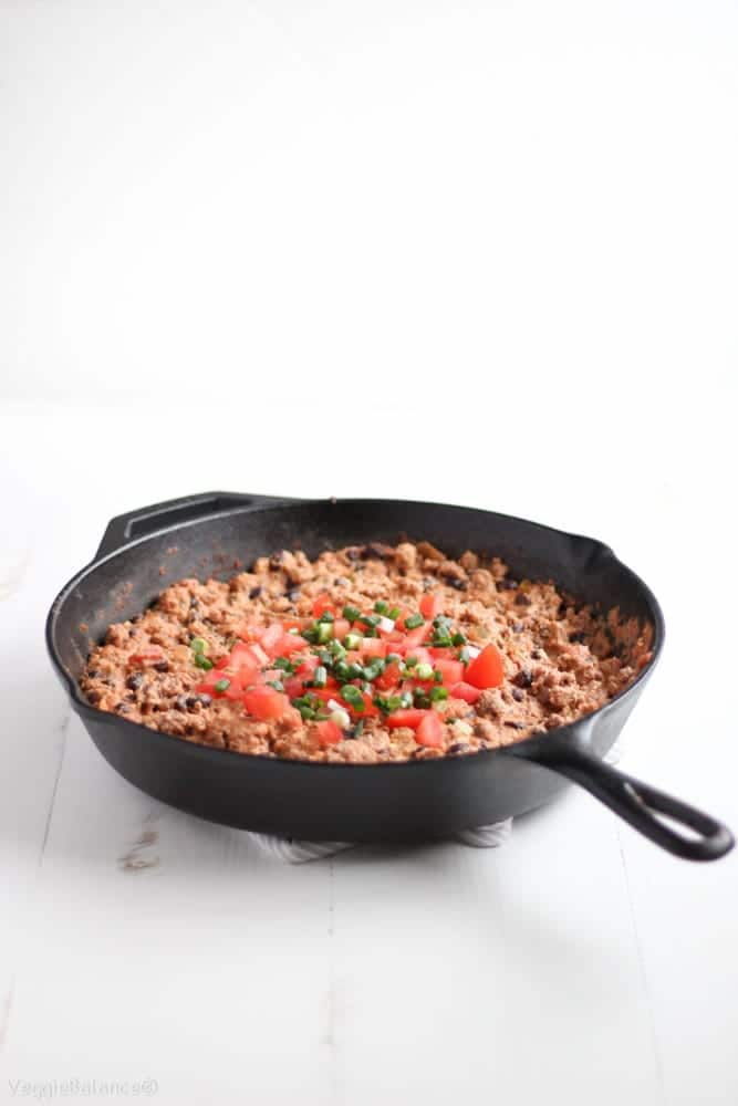Healthy Vegan Taco Dip