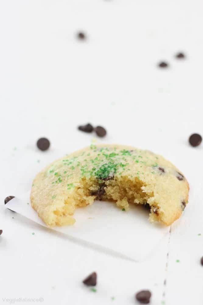 Mint Chocolate Chip Cookies (Gluten-Free) - Gluten Free ...