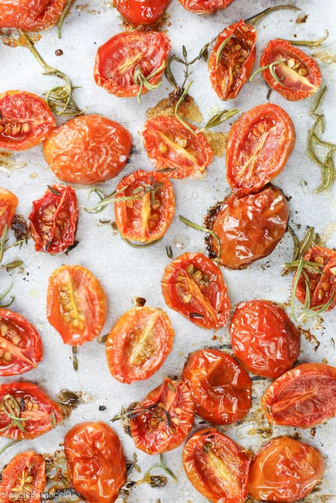 Roasting Tomatoes at Home - Veggiebalance.com