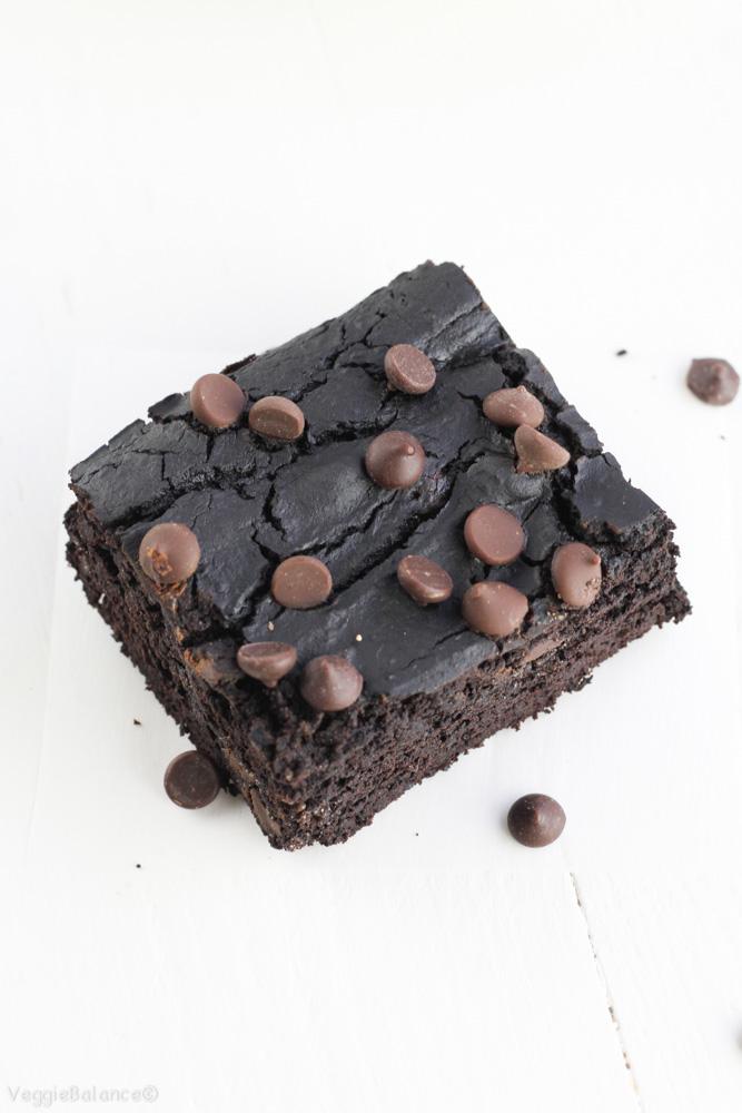 Black Bean Brownies Healthy Flourless Veggiebalance