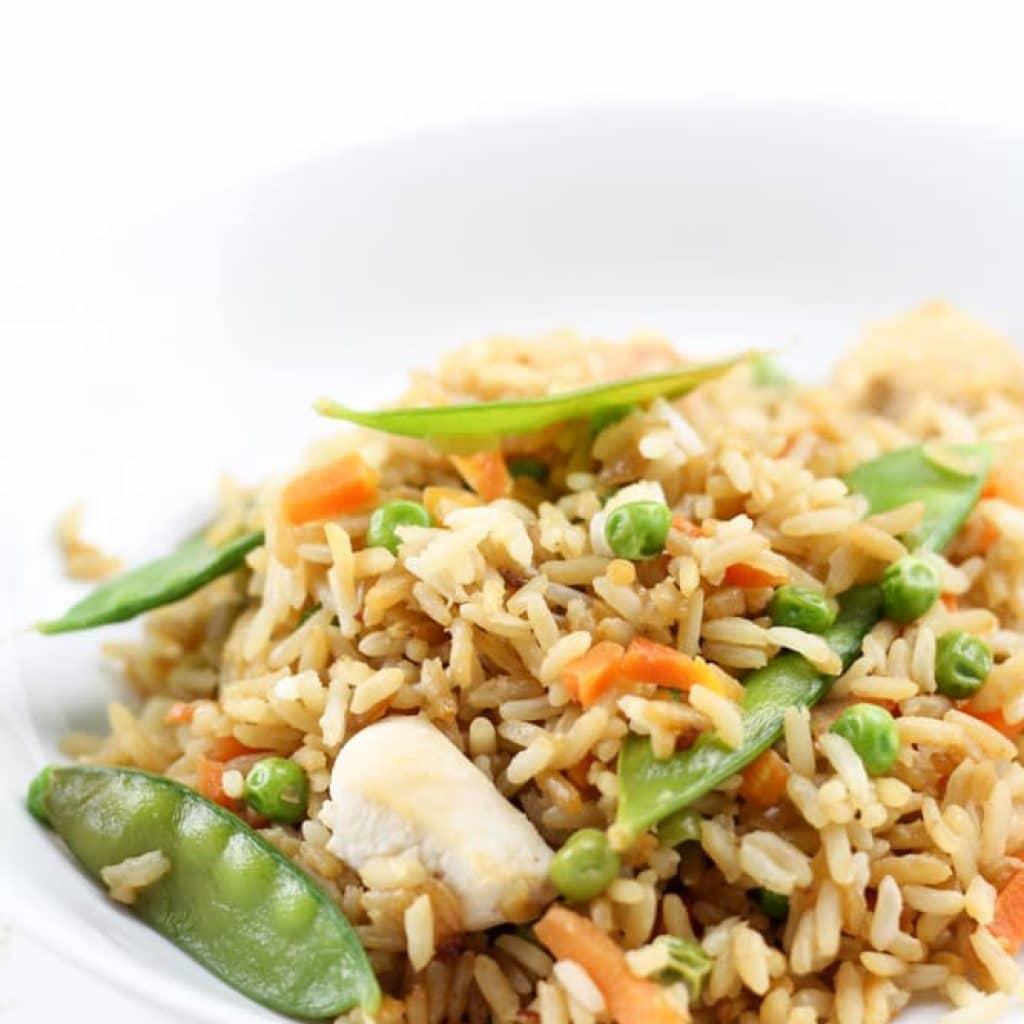 Gluten Free Chicken Fried Rice