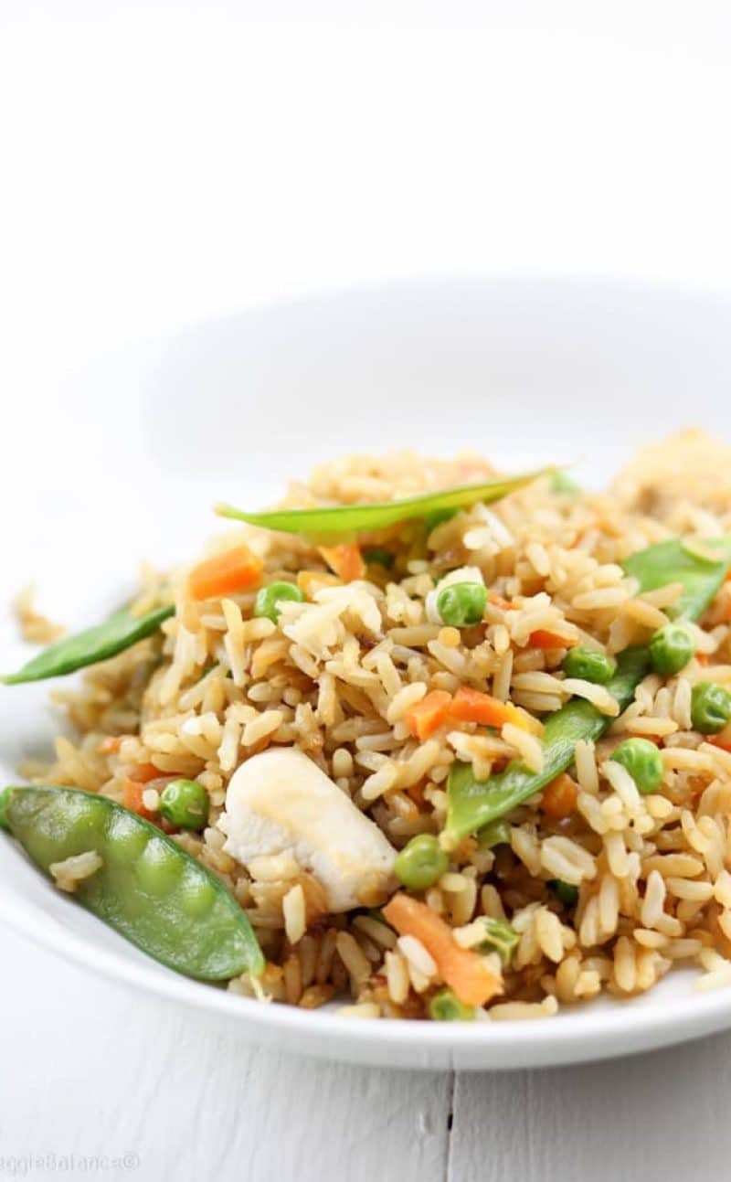 Chicken Fried Rice (Gluten Free, Dairy Free)