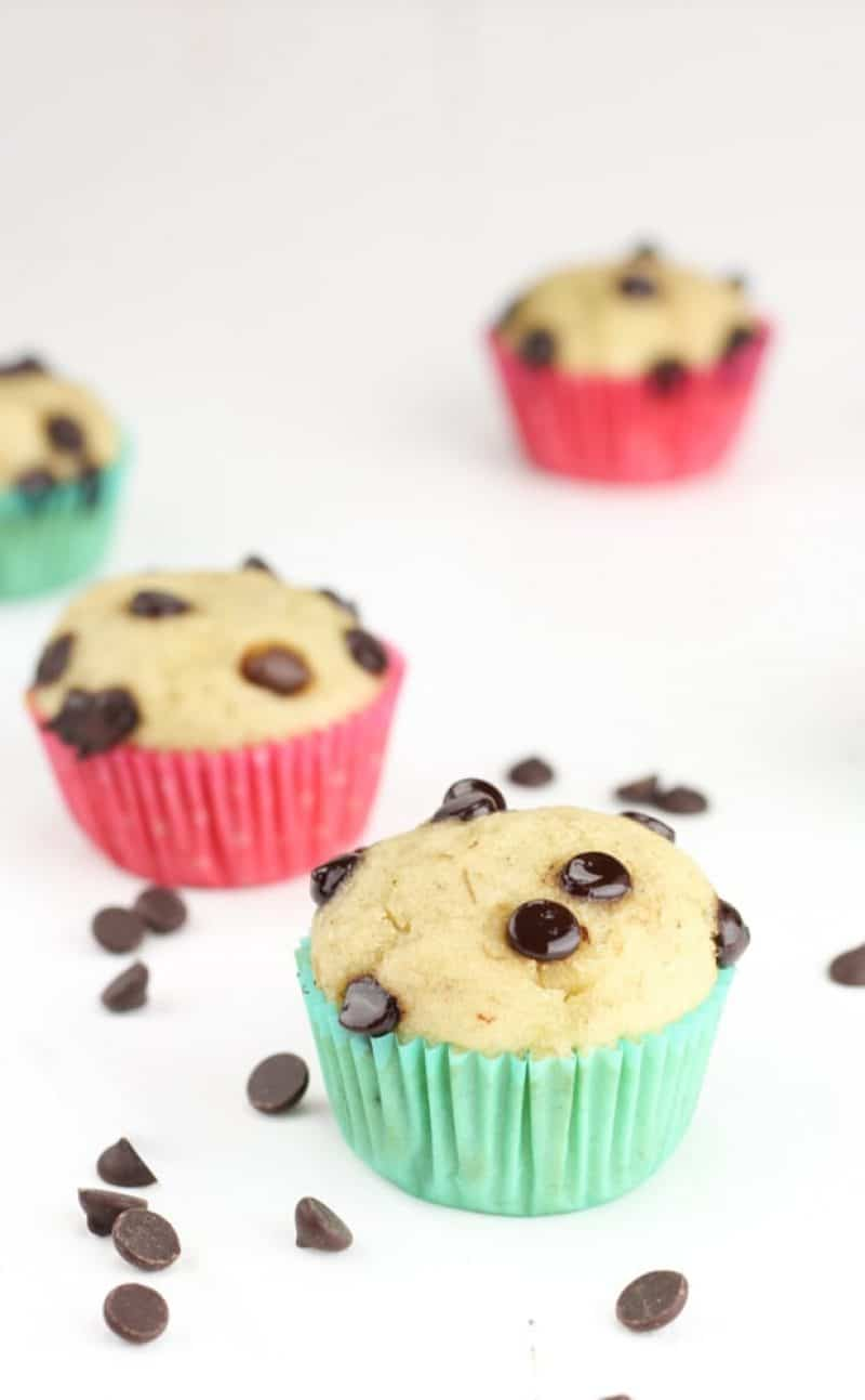 Healthy Gluten-Free Banana Muffins