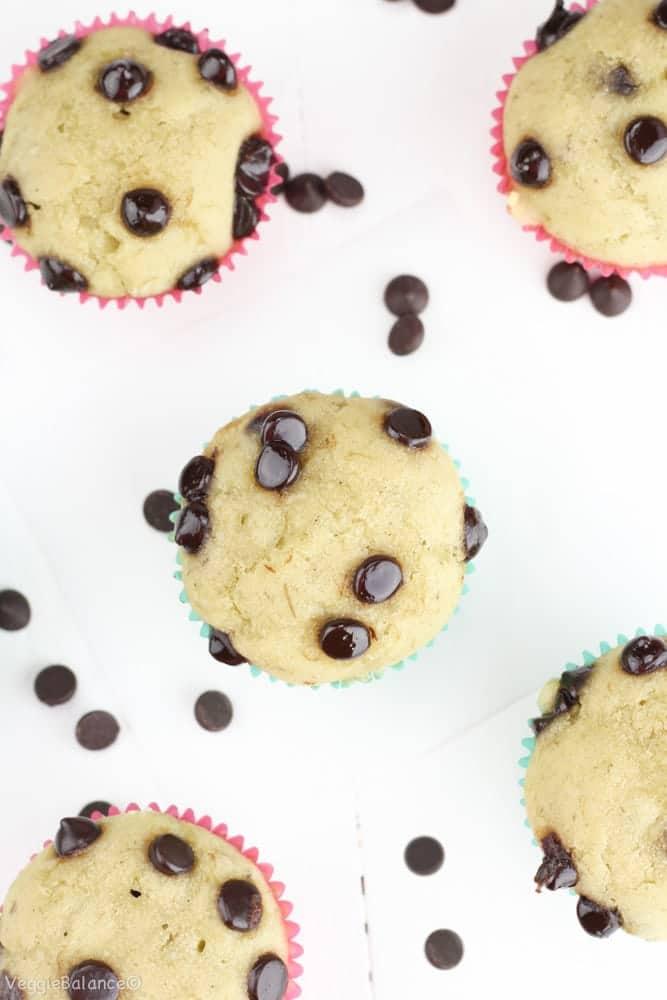 Healthy Gluten-Free Banana Muffins - Veggiebalance.com