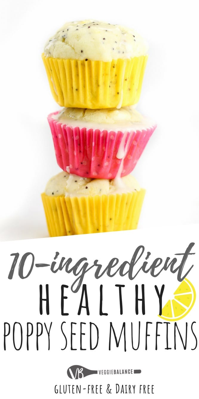 Healthy Lemon Poppy Seed Muffins Recipe