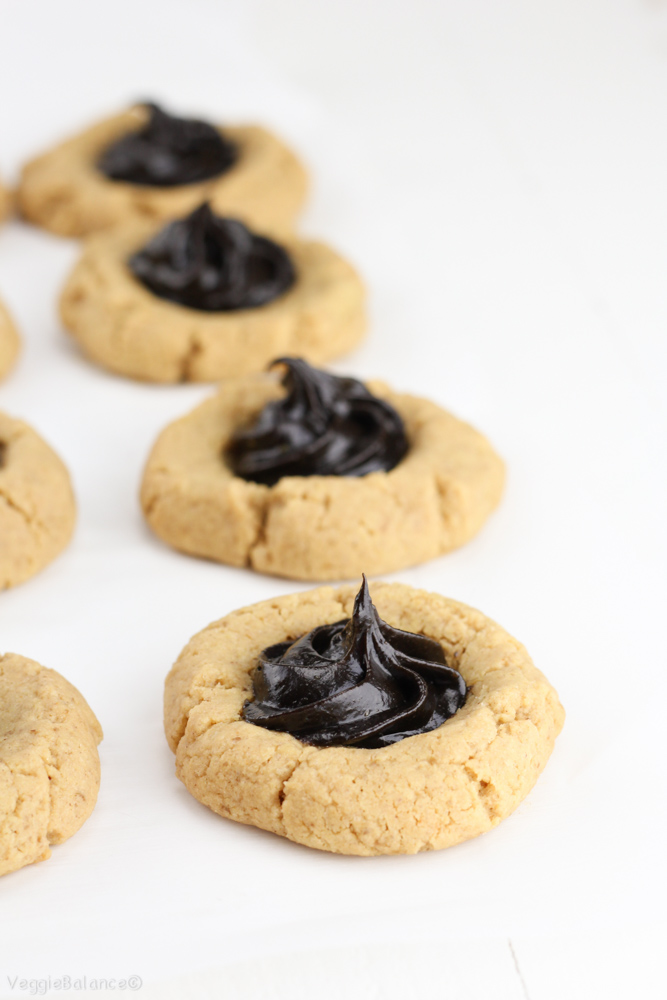 ... package. Hello Healthy Peanut Butter Chocolate Thumbprint Cookies
