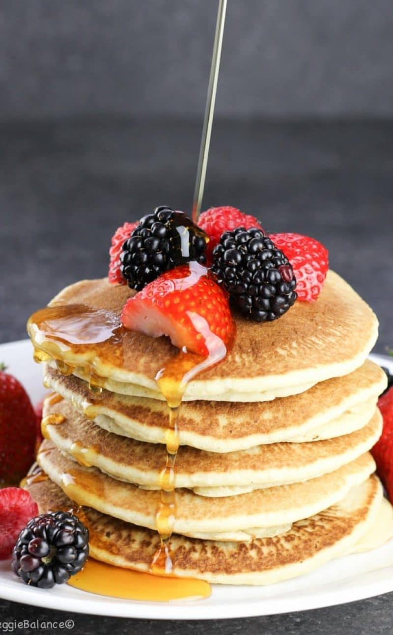 Best Gluten Free Buttermilk Pancakes (Dairy Free)