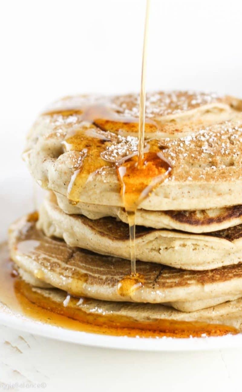 Gluten-Free Cinnamon Apple Pancakes